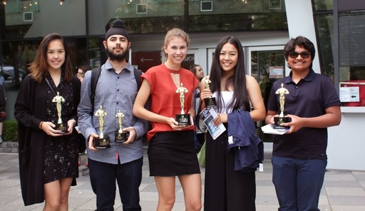 Southridge Students Win 11 Awards at B.C. Student Film Festival including