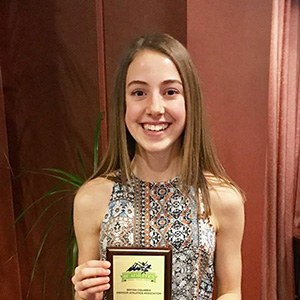 Track and Field Award for Kobylanski