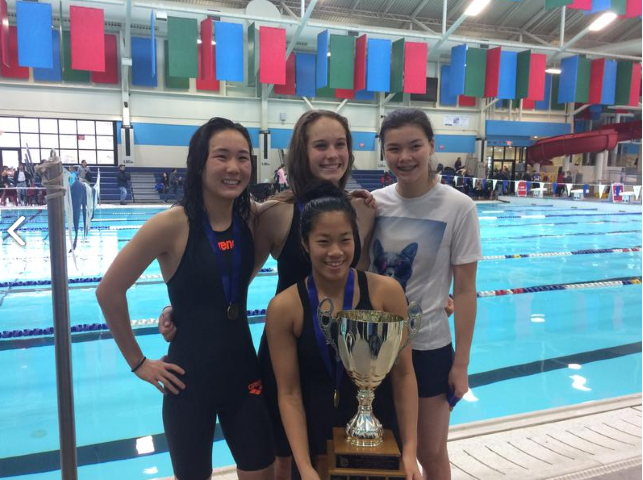 Senior Swim Team Breaks Records at Provincials