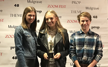 Southridge Students Win Multiple Awards Including 'Best Female Performance' at ZoomFest!