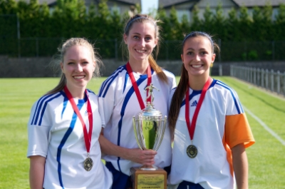Senior Girls Soccer Win Fraser Valley Title
