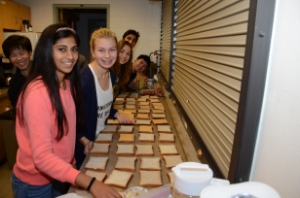 Sandwich Making for Soup Kitchen
